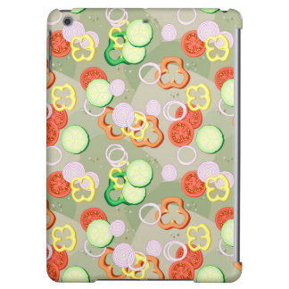 Texture With Slices Of Vegetables Case For iPad Air