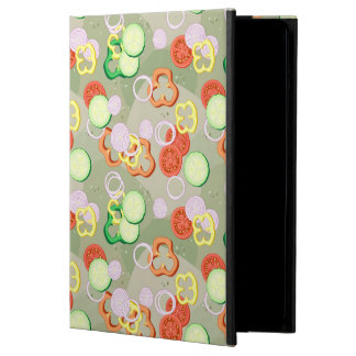 Texture With Slices Of Vegetables iPad Air Case