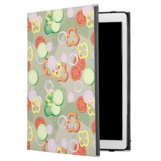 """Texture With Slices Of Vegetables iPad Pro 12.9"""" Case"""
