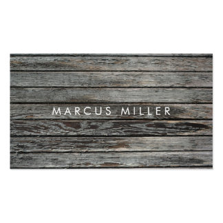 TEXTURE WOOD BUSINESS CARD