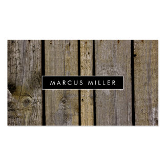 TEXTURE : WOOD   BUSINESS CARD