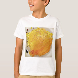 Texture yellow paint stain T-Shirt
