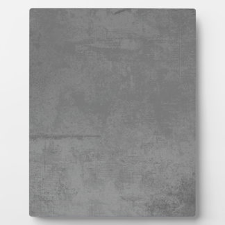 textured24 GRAY GREY CONCRETE TEXTURED BACKGROUND Plaques