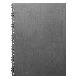 textured25 GREY GRAY DARK TEXTURE TEMPLATES BACKGR Notebooks