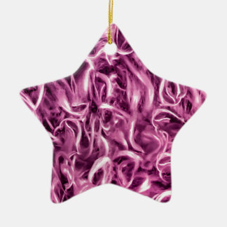 Textured Abstract Ceramic Ornament
