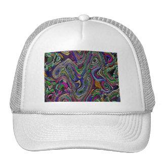 Textured Abstract Design Trucker Hat