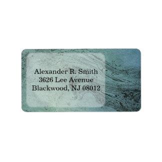 Textured Address Labels