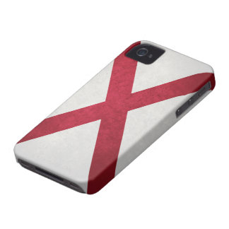 Textured Alabama Flag iPhone 4 Cover
