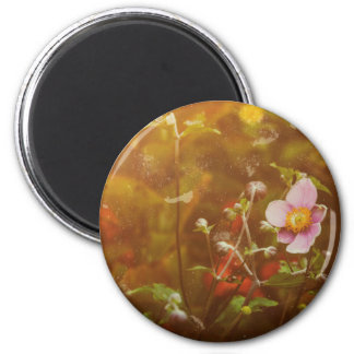 Textured Anemone Magnet