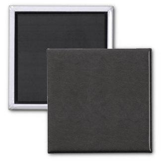 Textured Black Leather 2 Magnet