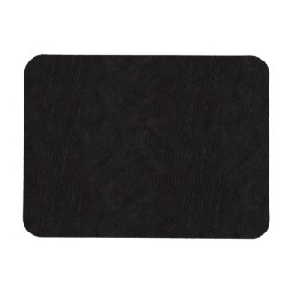 Textured Black Leather 2 Magnet