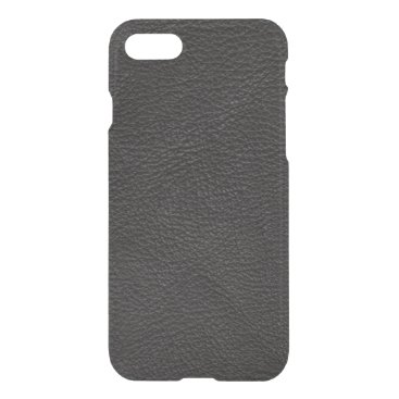 Professional Business Textured Black Leather iPhone 8/7 Case