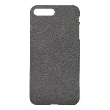 Professional Business Textured Black Leather iPhone 8 Plus/7 Plus Case