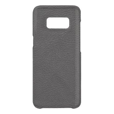 Professional Business Textured Black Leather Uncommon Samsung Galaxy S8 Case