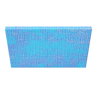 Textured Blue & Purple Abstract Canvas Print