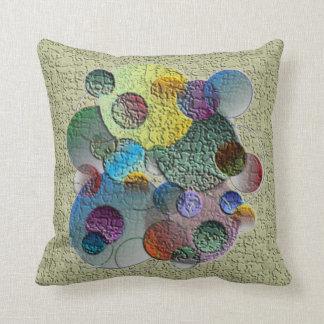 Textured Bubbles Pillow