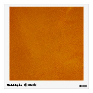 Textured Burnt Orange Wall Decal