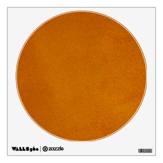 Textured Burnt Orange Wall Sticker