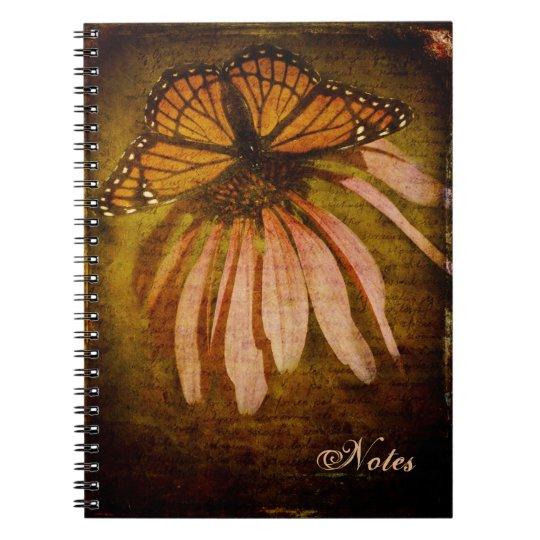 Textured Butterfly Notebook