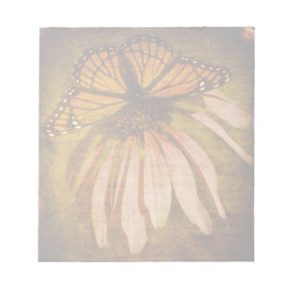 Textured Butterfly Notepad