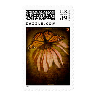 Textured Butterfly Postage