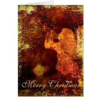 Textured Christmas Angel Cards