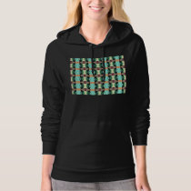 Textured Colorful Pattern Hoodie