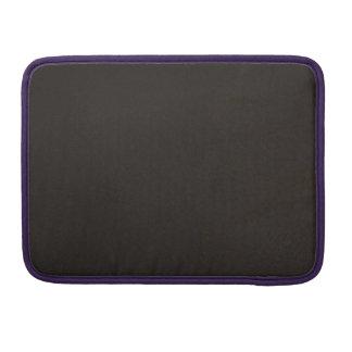 Textured Cosmic Black MacBook Pro Sleeves