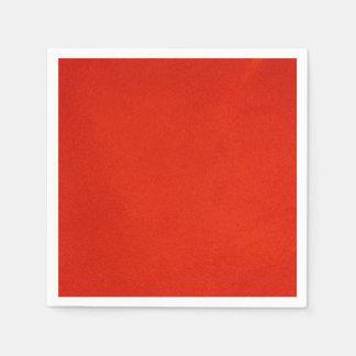 Textured Crimson Paper Napkin