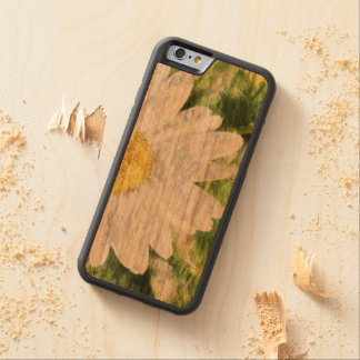 Textured Daisy Carved® Cherry iPhone 6 Bumper