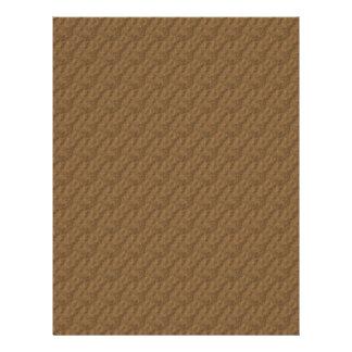 Textured Design Plain Brown Scrapbook Paper