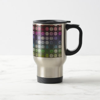 Textured Dots 15 Oz Stainless Steel Travel Mug