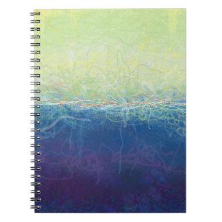 Textured Earth-Notebook Spiral Notebook