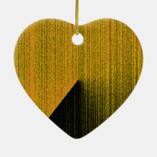 Textured effect Ornament for Decoration in Yellow