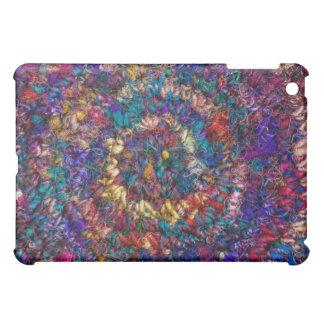 Textured fabric iPad case