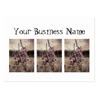Textured Fireweed Large Business Card