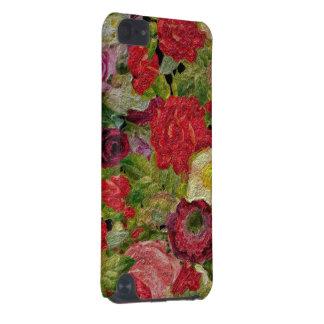 Textured Flower Garden iPod Touch (5th Generation) Case