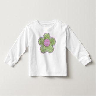 Textured Flower (pink) Toddler T-shirt