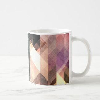 Textured Geometric Abstract Coffee Mug
