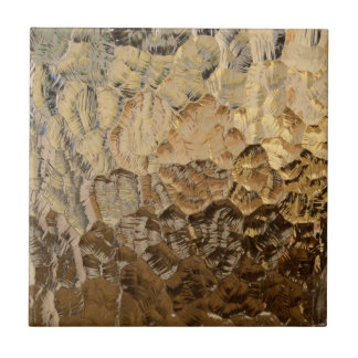 Textured Glass Background Small Square Tile