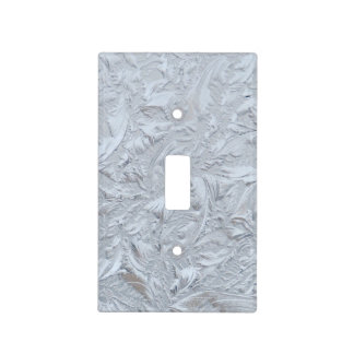 Textured Glass Light Switch Cover