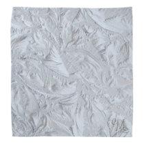 Textured Glass Monogrammed Bandana