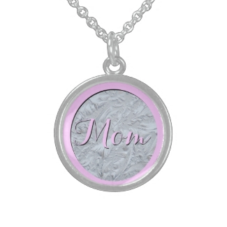 Textured Glass Pink MOM