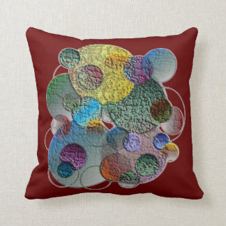 Textured Globes Pillow