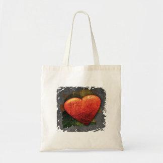 Textured Heart Bag