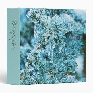 "Textured Icy Pine 1.5""  Photo Album 3 Ring Binder"
