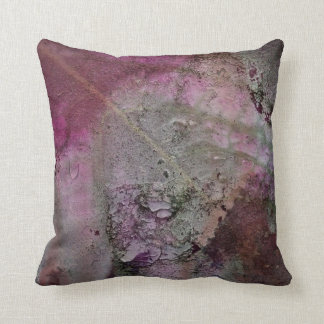 Textured Leaf  American MoJo Pillow