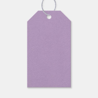 Textured Light Purple Color Gift Tags