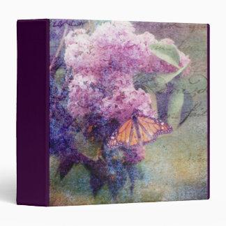 "Textured Lilacs 1.5"" Photo Album Binder"