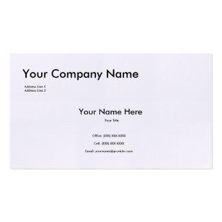 Textured Linen Business Card Template
